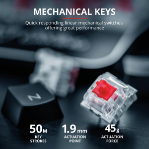 Tastatura mecanica Trust GXT 877 Scarr Mechanical Gaming Keyboard4