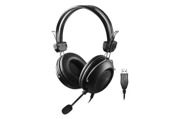 A4Tech Headphones HU-35 Stereo USB Black [0]