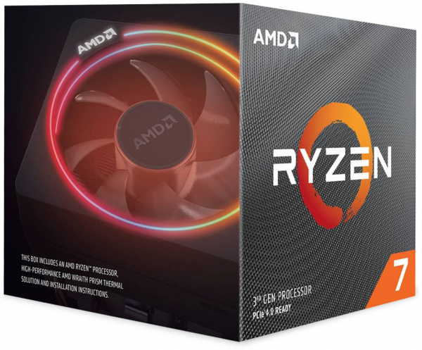 AMD CPU RYZEN 7 3700X 100100000071BOX 0