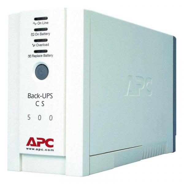 APC BACK-UPS CS 500VA 1