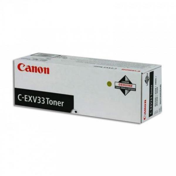 CANON CEXV33 BLACK TONER CARTRIDGE 0