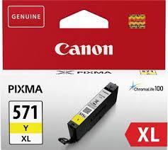 CANON CLI-571XLY YELLOW INKJET CARTRIDGE [0]