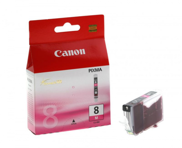 CANON CLI-8M MAGENTA INKJET CARTRIDGE 0