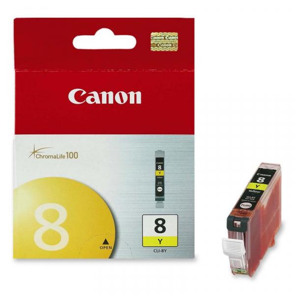CANON CLI-8Y YELLOW INKJET CARTRIDGE 0