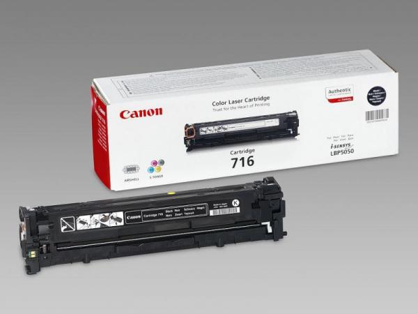 CANON CRG716B BLACK TONER CARTRIDGE 0