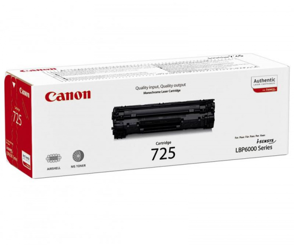 CANON CRG725 BLACK TONER CARTRIDGE 0