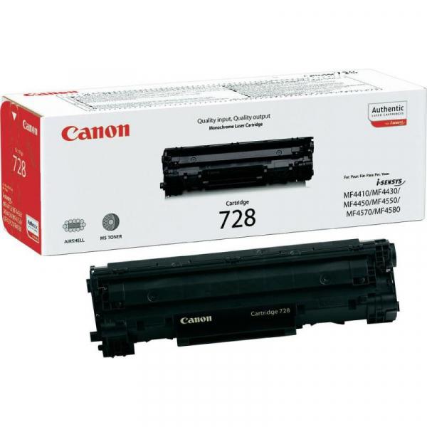 CANON CRG728 BLACK TONER CARTRIDGE [0]