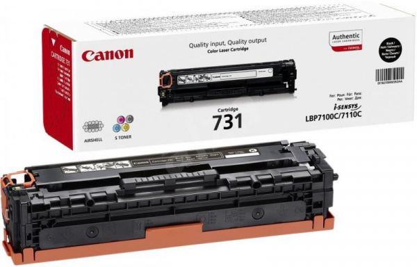 CANON CRG731B BLACK TONER CARTRIDGE 0