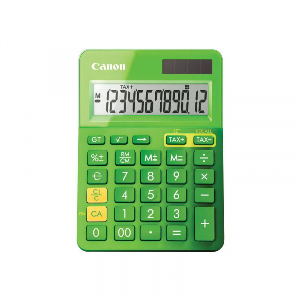CANON LS123KGR CALCULATOR 12 DIGITS 0