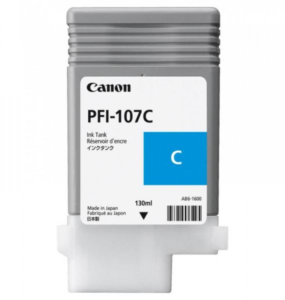 CANON PFI-107C CYAN INKJET CARTRIDGE 0