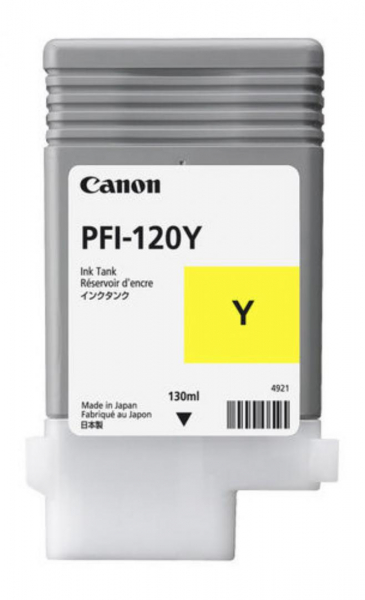 CANON PFI-120Y YELLOW INKJET CARTRIDGE 0