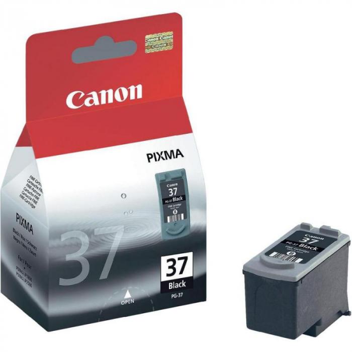 CANON PG-37 BLACK INKJET CARTRIDGE [0]