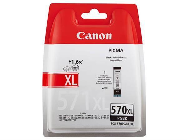CANON PGI-570XLPGBK BLACK XL INKJET CART [0]