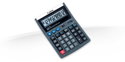 CANON TX-1210E CALCULATOR 12 DIGITS 0