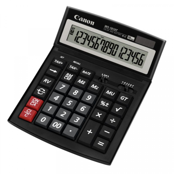 CANON WS1610T CALCULATOR 16 DIGITS 0