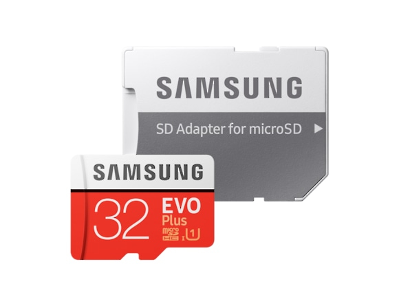 Card memorie Samsung MB-MC32GA/EU,  Micro-SDHC,  EVO Plus,  32GB, rata transfer r/w 95/20 MB/s,  Class 10, UHS-I,  (Adaptor SD inclus) 2