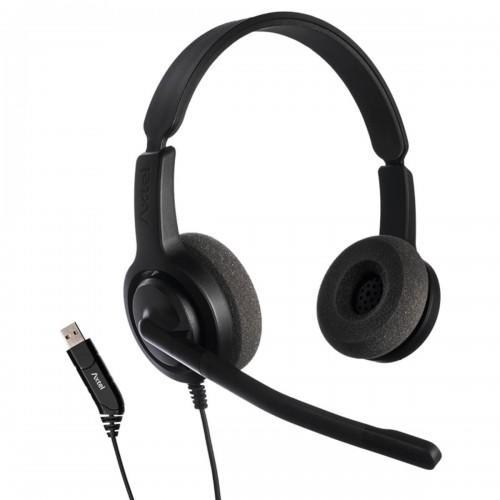 CASTI AXTEL VOICE USB28 DUO NC [0]