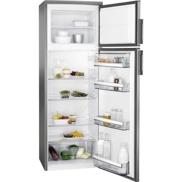 Combina frigorifica 259 litri A++ Static H 159 cm inox antiamprenta 0
