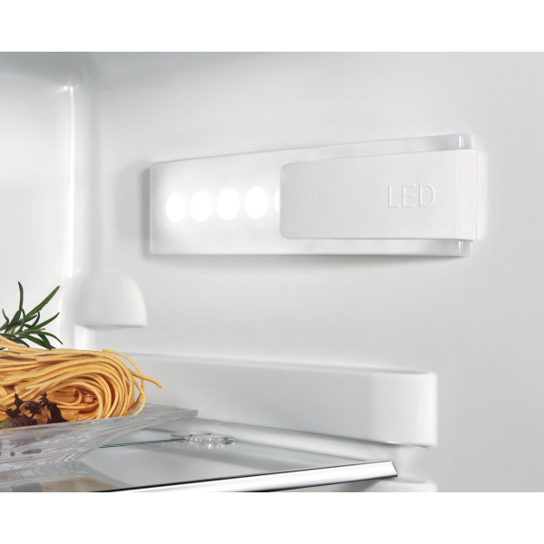 Combina frigorifica incorporabila 253 litri A+ Frost free H 177 cm alb 4