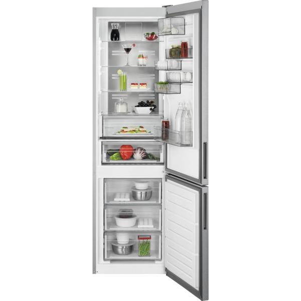 Combina frigorifica 360 litri A++ Frost free H 201 cm inox antiamprenta [0]