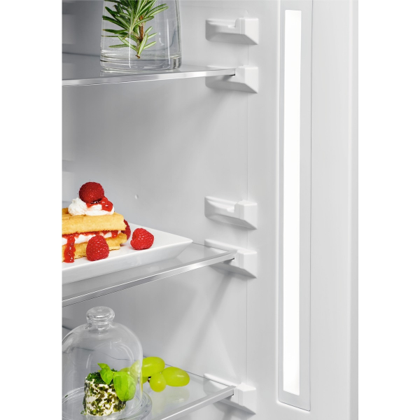 Combina frigorifica 360 litri A++ Frost free H 201 cm inox negru 2