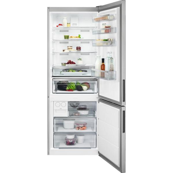 Combina frigorifica 461 litri A++ Frost free H 192 cm inox antiamprenta 0