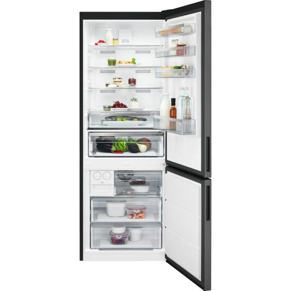Combina frigorifica 461 litri A++ Frost free H 192 cm inox negru 0