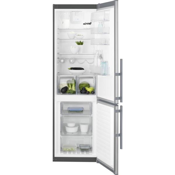 Combina frigorifica EN3854MOX 349 litri A++ Frost free H 201 cm inox antiamprenta [0]