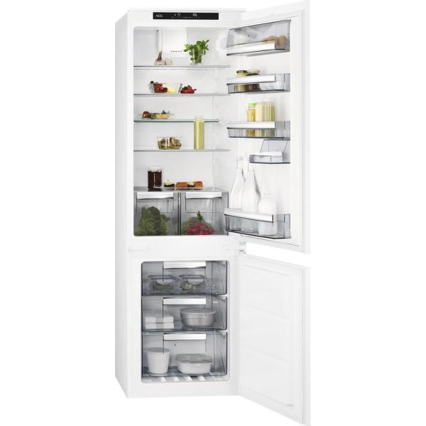 Combina frigorifica incorporabila 253 litri A+ Frost free H 177 cm alb 0