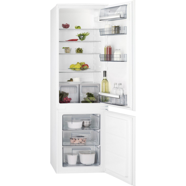 Combina frigorifica incorporabila 268 litri A+ Static low frost H 177 cm alb 0