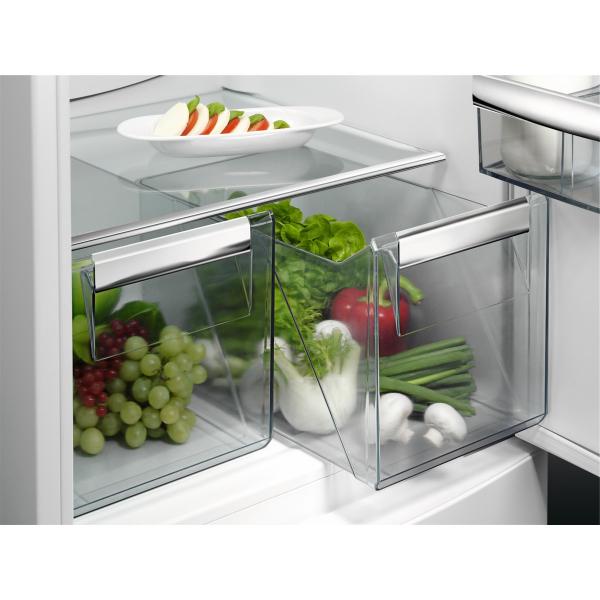 Combina frigorifica incorporabila 268 litri A+ Static low frost H 177 cm alb 2