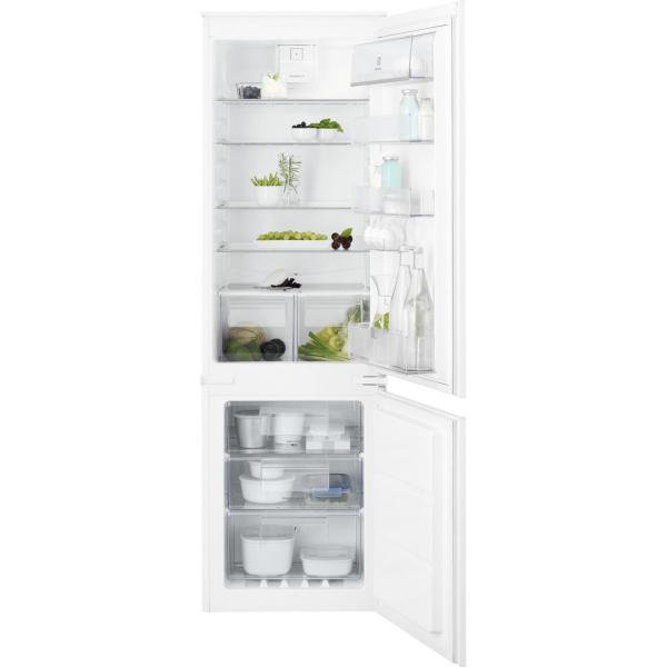Combina frigorifica incorporabila ENN2851AOW 253 litri A+ Frost free H 177 cm alb [0]