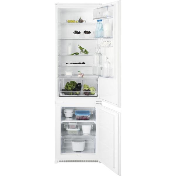 Combina frigorifica incorporabila ENN3101AOW 292 litri A+ Static H 184 cm alb [0]
