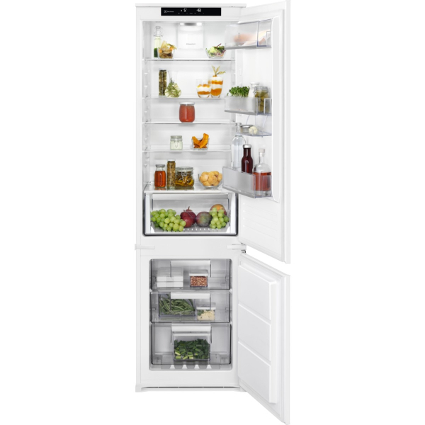 Combina frigorifica incorporabila ENS6TE19S 273 litri A++ Frost free H 188 cm alb [0]