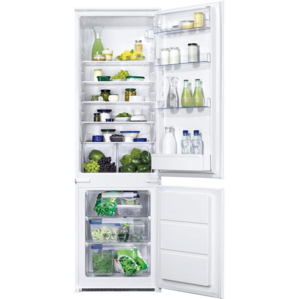 Combina frigorifica incorporabila ZBB28441SA A+ Static low frost 268 litri H 177 cm [0]