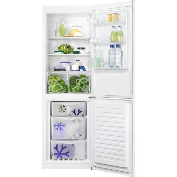 Combina frigorifica independenta ZNLN34FW2 A+ Static low frost 329 litri 185 cm 0