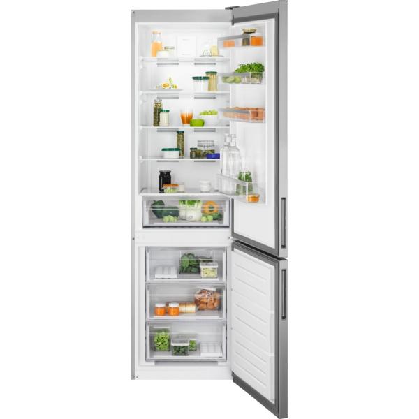 Combina frigorifica LNT5MF36U0 360 litri A+ Frost free H 201 cm aspect inox antiamprenta [0]
