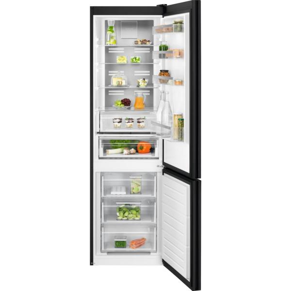 Combina frigorifica LNT7ME34K1 360 litri A++ Frost free H 201 cm sticla neagra [0]