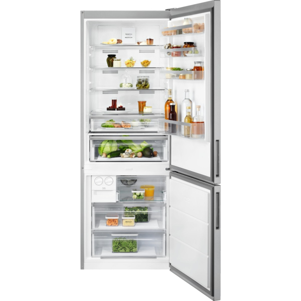 Combina frigorifica LNT7MF46X2 461 litri A+ Frost free H 192 cm inox antiamprenta [0]