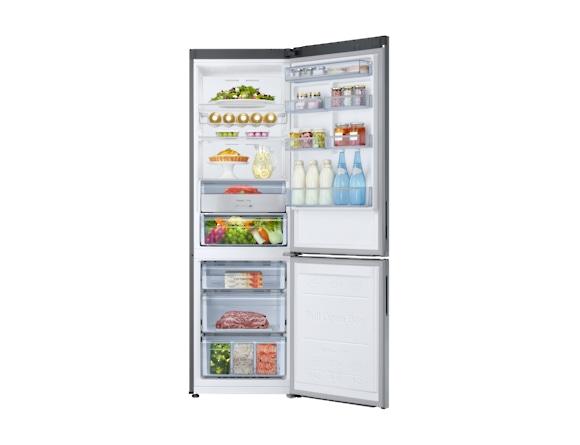 Combina frigorifica Samsung RB34K6032SS, All Around, Capacitate 344L, Capacitate neta congelator: 98l, Capacitate neta frigider: 246l, Inaltime 1917mm, Latime: 600mm, Adancime 664mm, Functii racire: N 4