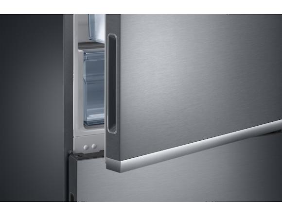 Combina frigorifica Samsung RB34K6032SS, All Around, Capacitate 344L, Capacitate neta congelator: 98l, Capacitate neta frigider: 246l, Inaltime 1917mm, Latime: 600mm, Adancime 664mm, Functii racire: N 7