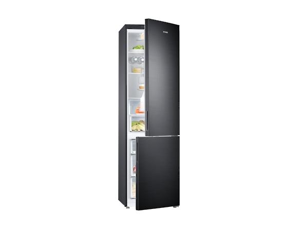 Combina frigorifica Samsung RB37J501MB1, All Around, Capacitate 387L, Capacitate neta congelator: 98l, Capacitate neta frigider: 255l, Inaltime 2010mm, Latime: 595mm, Adancime 675mm, Functii racire: N 5