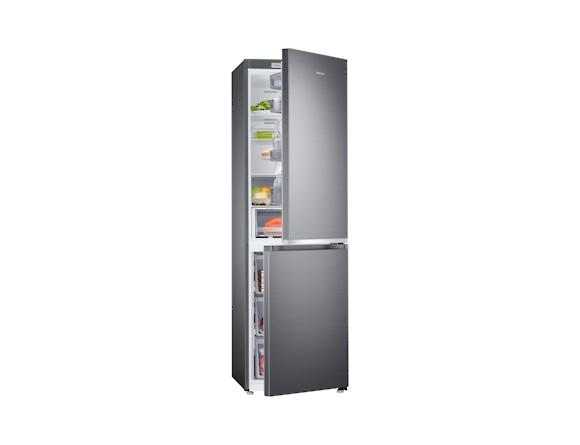 Combina frigorifica Samsung RB38R7717S9, Twin Cooling Plus, Capacitate 382L, Capacitate neta congelator: 130l, Capacitate neta frigider: 252l, Inaltime 1927mm, Latime: 595mm, Adancime 650mm, Functii r 5