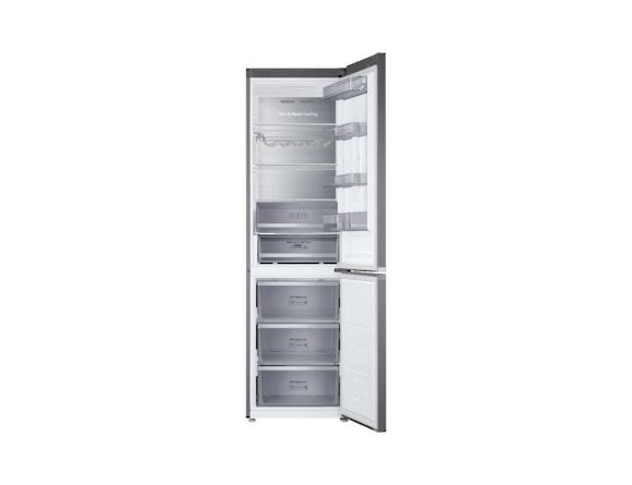 Combina frigorifica Samsung RB41R7837S9, Twin Cooling Plus, Capacitate 406L, Capacitate neta congelator: 130l, Capacitate neta frigider: 276l, Inaltime 2016mm, Latime: 595mm, Adancime 650mm, Functii r 3