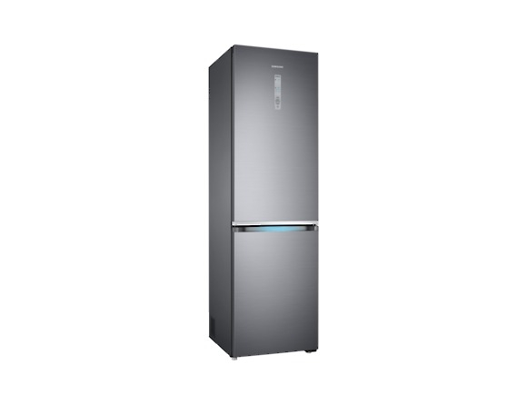 Combina frigorifica Samsung RB41R7837S9, Twin Cooling Plus, Capacitate 406L, Capacitate neta congelator: 130l, Capacitate neta frigider: 276l, Inaltime 2016mm, Latime: 595mm, Adancime 650mm, Functii r 2