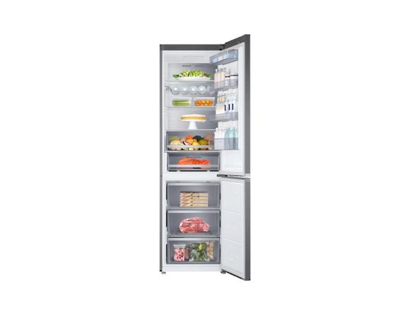 Combina frigorifica Samsung RB41R7837S9, Twin Cooling Plus, Capacitate 406L, Capacitate neta congelator: 130l, Capacitate neta frigider: 276l, Inaltime 2016mm, Latime: 595mm, Adancime 650mm, Functii r 4