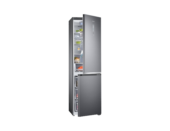 Combina frigorifica Samsung RB41R7837S9, Twin Cooling Plus, Capacitate 406L, Capacitate neta congelator: 130l, Capacitate neta frigider: 276l, Inaltime 2016mm, Latime: 595mm, Adancime 650mm, Functii r 5