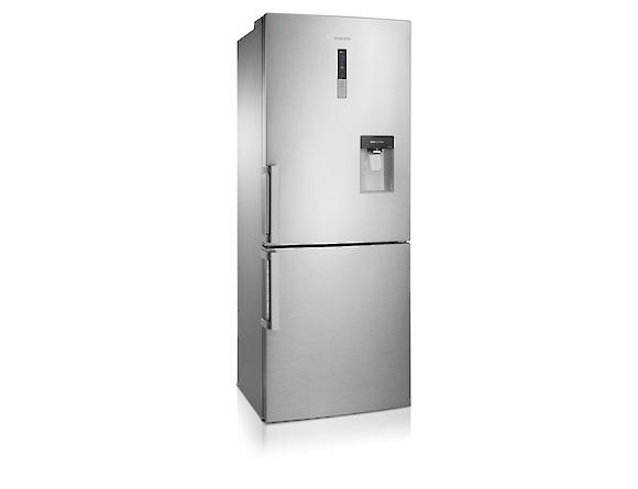 Combina frigorifica Samsung RL4363FBASL, All Around, Capacitate 432L, Capacitate neta congelator: 132l, Capacitate neta frigider: 300l, Inaltime 1850mm, Latime: 700mm, Adancime 740mm, Functii racire:  1