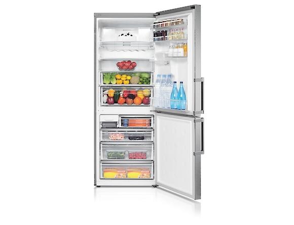 Combina frigorifica Samsung RL4363FBASL, All Around, Capacitate 432L, Capacitate neta congelator: 132l, Capacitate neta frigider: 300l, Inaltime 1850mm, Latime: 700mm, Adancime 740mm, Functii racire:  3