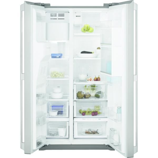 Combina frigorifica side by side EAL6142BOX 527 litri A+ Frost free H 178 cm inox antiamprenta [0]